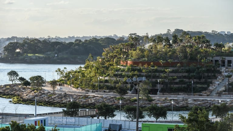 Barangaroo Reserve will open a part of the Sydney Harbour foreshore to the public for the first time in more than 100 years.