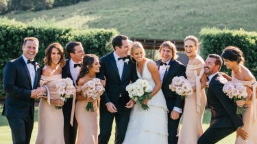 Nine's Sylvia Jeffreys and Peter Stefanovic, the brother of <i>Today</i> host Karl Stefanovic, were married on Saturday in Kangaroo Valley.
