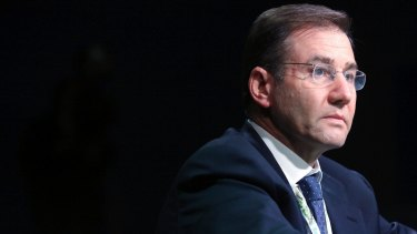 Glencore chief Ivan Glasenberg says his company is not likely to make acquisitions while it fixes its balance sheet.