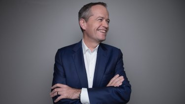 Opposition Leader Bill Shorten in Darwin during the third week of the election campaign.