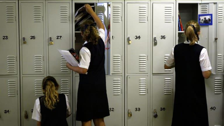 While the group advocates changing private school uniform policy, it still acknowledges the need for uniforms.