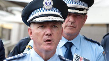 NSW Police Commissioner Mick Fuller has announced military-style assault rifles will be rolled out for NSW Public Order and Riot Squad in time for large gatherings, including New Year's Eve.