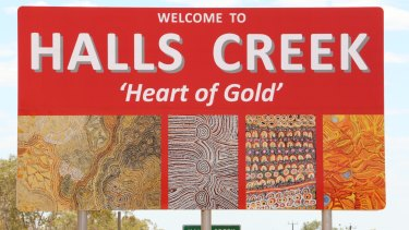 The Halls Creek community has rejected the idea of welfare quarantining as one that will not help problems with addition in residents.