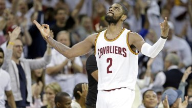 2d10c638a Kyrie Irving scores 30 in playoff debut as Cleveland Cavaliers beat Boston  Celtics