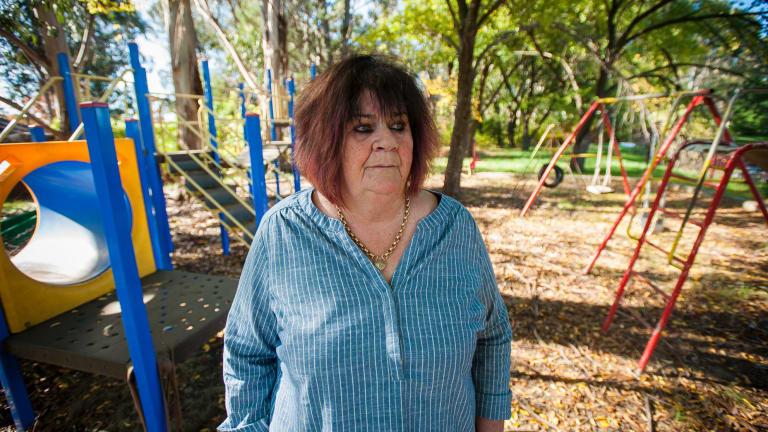 Canberra Winnunga Aboriginal Health Service boss Julie Tongs.