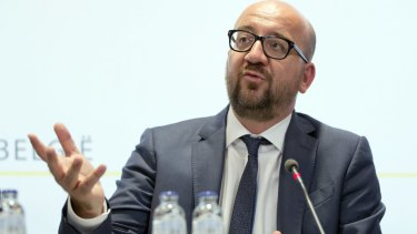 """The Prime Minister of Belgium, Charles Michel, called it """"a brutal act."""""""