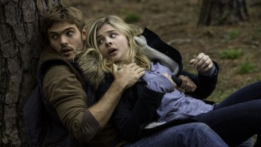 Chloe Grace Moretz plays spiky heroine Cassie Sullivan in J. Blakeson's <i>The 5th Wave</i>.