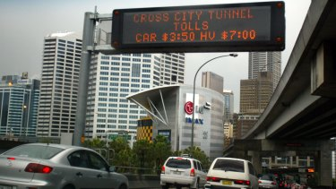 Transurban owns many of the major tollways on the eastern seaboard,inclding Sydney's Cross City tunnel .