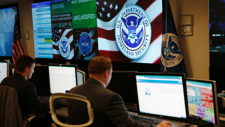 Inside the United States' National Cybersecurity and Communications Integration Centre.
