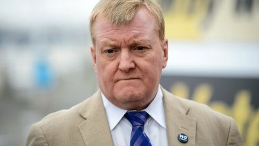 Charles Kennedy in September last year.