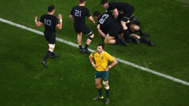 Dejected:  Adam Ashley-Cooper said losing a World Cup final is not the way he wants to go out.