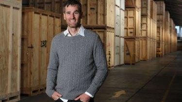 Supercheap Storage co-founder Edward Thirlwall.