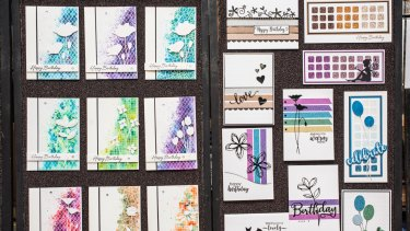Learn the art of card-making at Bellbird PaperArts in Blackburn.