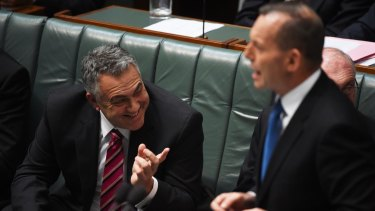 Federal Treasurer Joe Hockey and PM Tony Abbott have received a boost on the back of the federal budget.