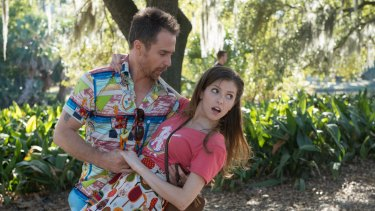 Sam Rockwell and Anna Kendrick show off their moves in <i>Mr Right</I>.