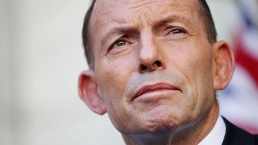 """Tony Abbott says no leader can achieve anything if they are """"subject to death by opinion poll""""."""