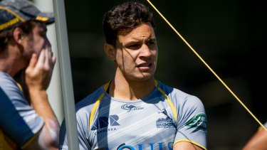 Matt Toomua has also seen the impact of fighting against homophobia after meeting gay players at the Mardi Gras last year.