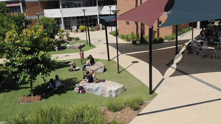 The campus is shared with TAFE Queensland.
