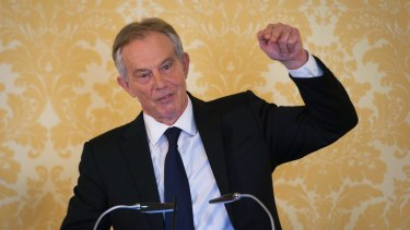 "Former British prime minister Tony Blair responds to the Chilcot report: ""I express more sorrow, regret and apology than you may ever know."""