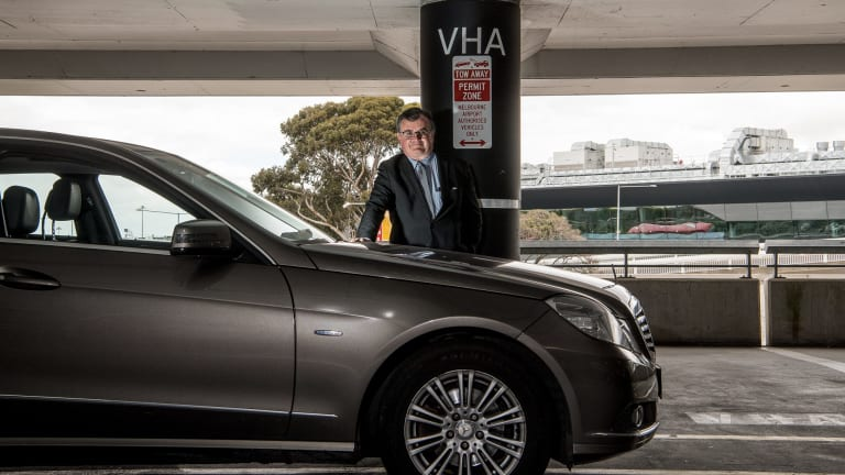 Hire car driver Tony Sheridan challenged four parking fines.