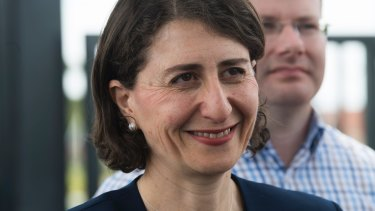NSW Premier Gladys Berejiklian said she did not consider raising the tax issue a pressing matter.