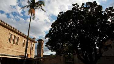"""Advocates of Callan Park fear """"demolition by neglect"""" and the sale of the park once Sydney University vacates the historic Kirkbride complex."""