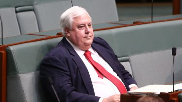 Clive Palmer is being investigated for possible criminal charges, the securities regulator has warned.