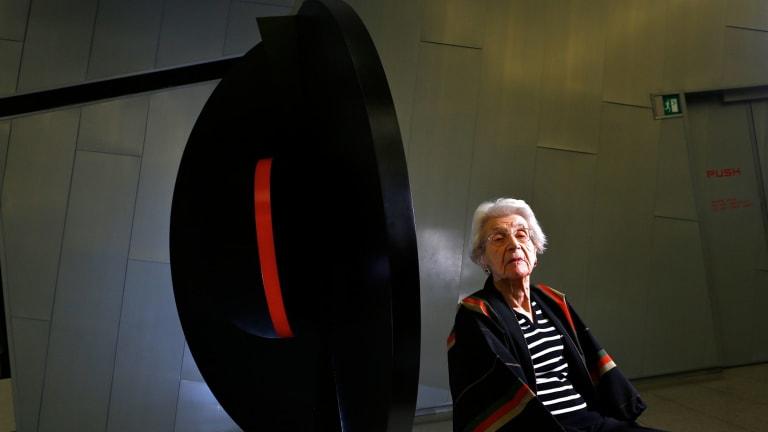 Inge King in 2014.