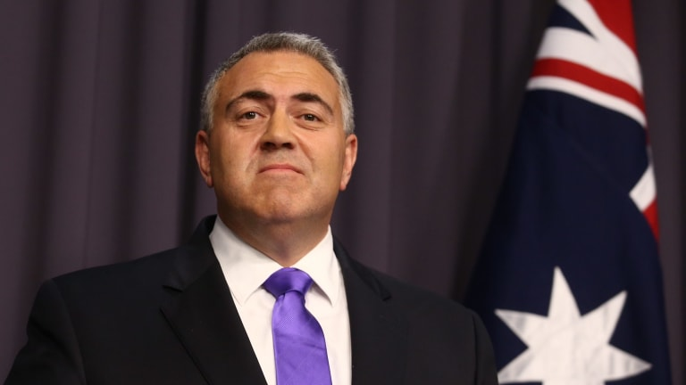 Joe Hockey's claims that the national accounts were 'a terrific set of numbers' that demonstrated the economy had 'strong and broad-based momentum' were a stretch.
