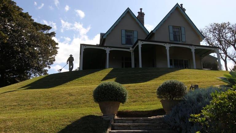 Kirribilli House.