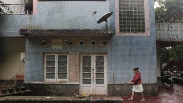 Former Soviet townhouse from the mid-1950s in Kebayoran Baru, Jakarta.