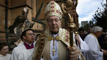 Cardinal George Pell is under pressure from a Roman Curia desperate to see him shuffle into retirement.