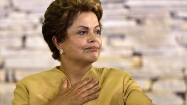 Brazil's President Dilma Rousseff earlier this year.