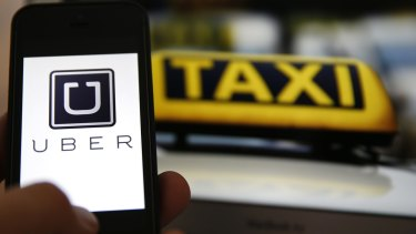 """Mr Barr says """"the answer is an increased level of regulation on Uber to reach a range of minimum standards that the community would want and expect, and a decrease in regulation in some sectors of the taxi industry."""""""