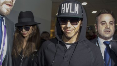 Centre of attention: Lewis Hamilton arrives back in London this week after his World Championship win.