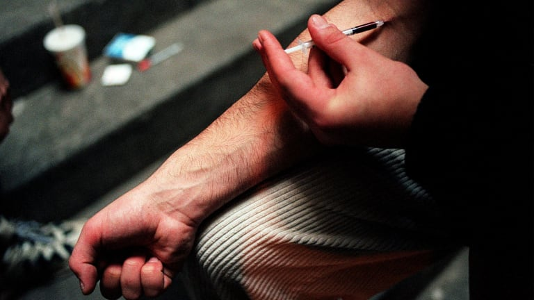 More than 20 per cent of all people who die from a heroin overdose in Victoria either die in, or source the drug from, north Richmond.
