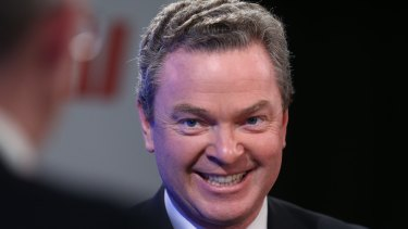 """Education Minister Christopher Pyne says Treasurer Joe Hockey is """"perfectly entitled"""" to co-chair the parliamentary friendship group for a republic."""