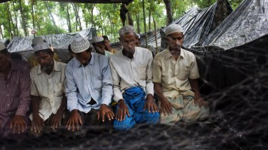 The UN said 270,000 Rohingya Muslims have fled the violence.