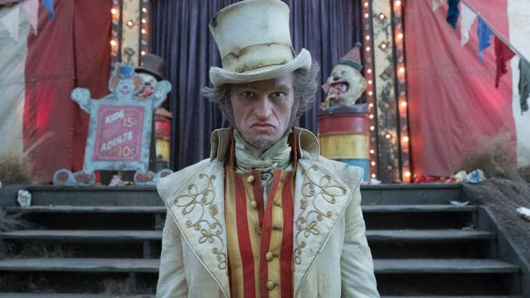 Villainous: Neil Patrick Harris as Count Olaf in A Series of Unfortunate Events.