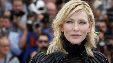 Not a selfie fan: Cate Blanchett..