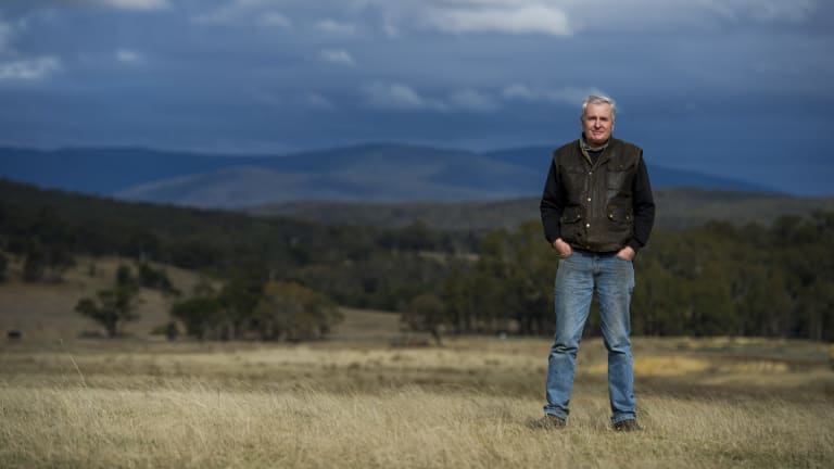 Rob Gordon is subdividing a big portion of his historic property into 40-hectare lots to meet demand for hobby farms.