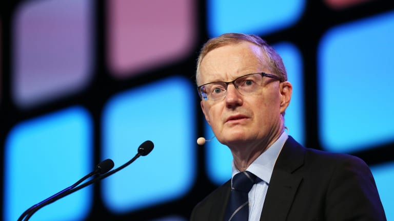 Philip Lowe says this week's figures give him no reason to revise down the RBA's forecast that growth will strengthen to 3 per cent this year and next.