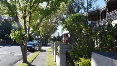Leafy Ethel Street, Burwood, identified as the home suburb of one of China's most wanted.