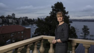 Mayor of Woollahra, Toni Zeltzer at the Woollahra Council Chambers in Sydney.