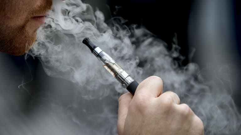 E-cigarette vapour comprises micro- and nano-particles. There's little to no understanding of what the health consequences will be of deep inhaling these thousands of times a year across many years.