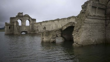 The church was abandoned due the big plagues of 1773-1776, says architect Carlos Navarette.