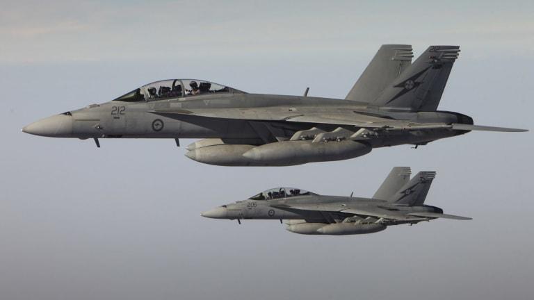 Australia carries out regular air strikes in Iraq.