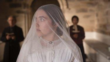 Florence Pugh, the heroine in Lady Macbeth, is married to a brutal landowner.