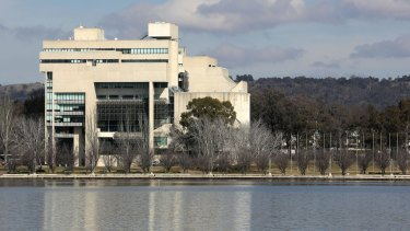 The High Court of Australia, another favourite Canberra building of Catherine Townsend.