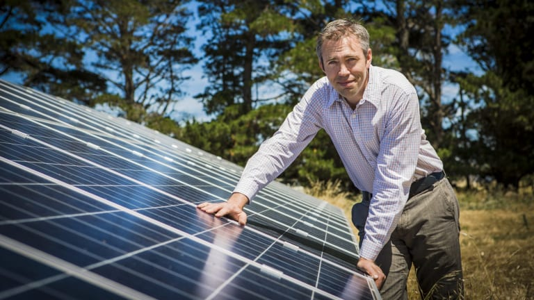 Power to the people: Reposit Power's Luke Osborne says GridCredit allows consumers to store their solar energy and sell it back to the grid.